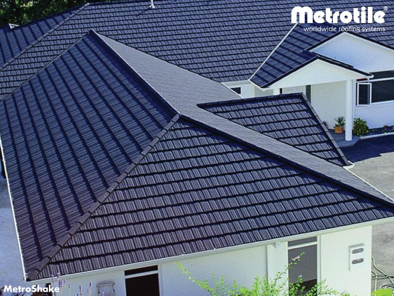 Lightweight Metal Roofing Shake From Metrotile Vinteko Lv