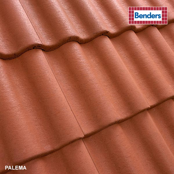 Tile red, 0200 14
