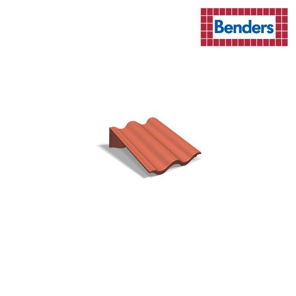 L-shaped ridge tile