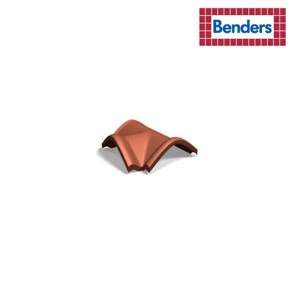 T-shaped starter ridge tile with locking fold
