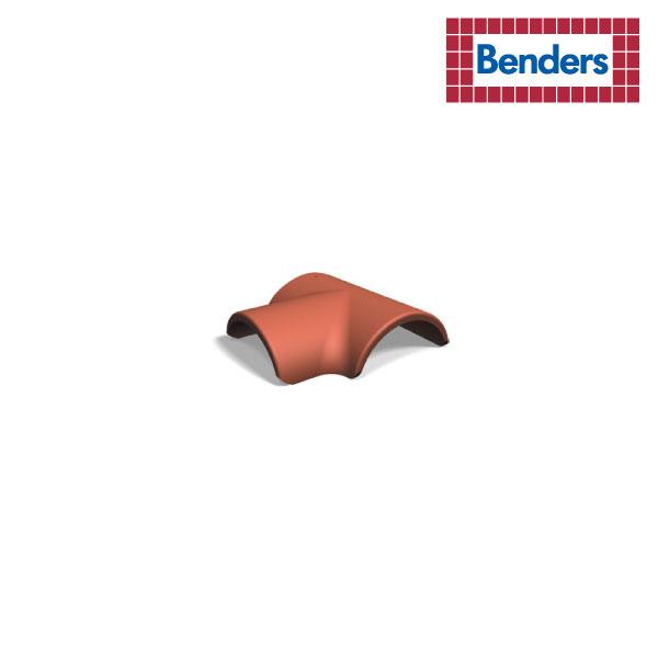 T-shaped starter ridge tile