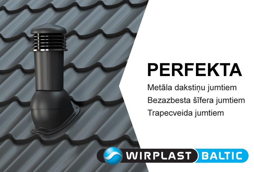 Ventilācijas izvadi PERFEKTA no WIRPLAST. Vinteko.