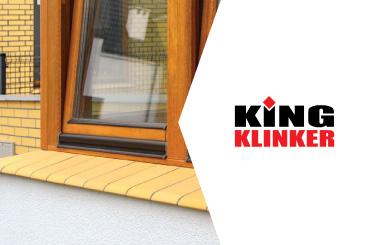 Klinkera palodzes King Klinker. Vinteko.
