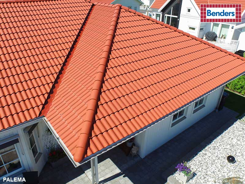 Tile red, 0200 24