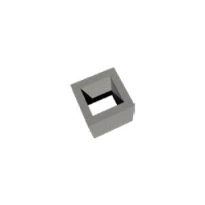 Single Venting Channel Module Block, 250x200/330 mm