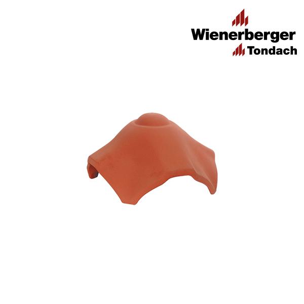X-shaped sloping ridge tile