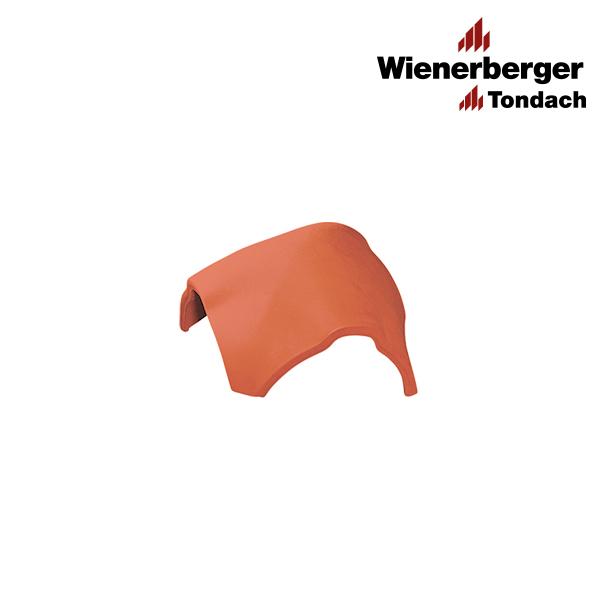 Y-shaped sloping ridge tile