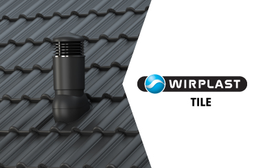 Vinteko. Wirplast Tile ventilācijas izvadi. Katalogs.