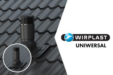 Vinteko. Wirplast Uniwersal ventilācijas izvadi. Katalogs.